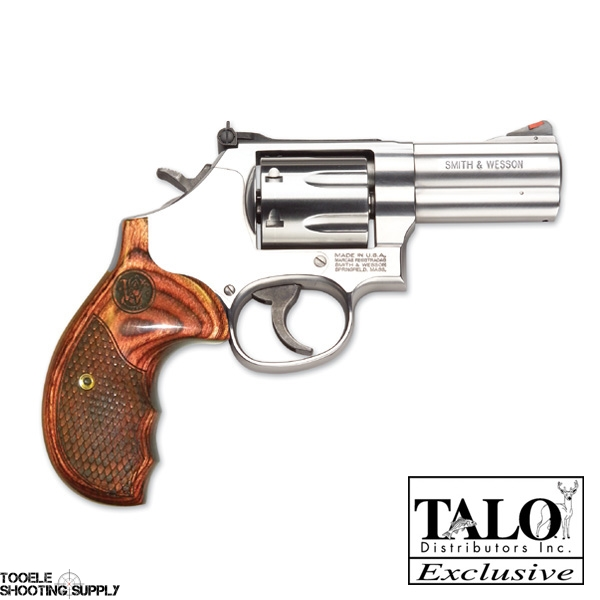 Smith & Wesson 686 Plus  357 mag TALO Edition Revolver- Stainless Steel, 3