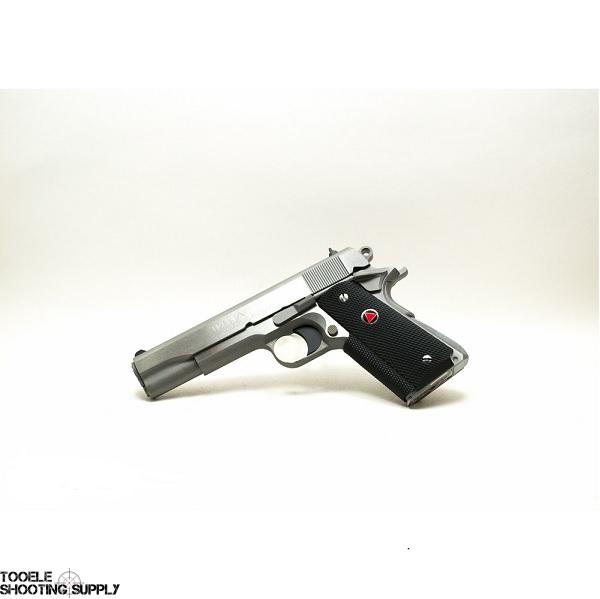 Colt Delta Elite 10mm Pistol, Stainless, 5 Inch Barrel, Rubber Grips, Colt  O2020