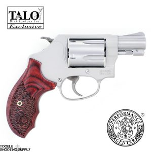 Smith & Wesson Performance Center Model 637 Enhanced Action Talo Edition .38 Special Revolver- Smith & Wesson 170349