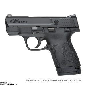 """Smith & Wesson M&P Shield .40 S&W Pistol- 3.1"""" Barrel, Black Finish, 6 and 7-Round Magazines- Smith & Wesson 180020"""