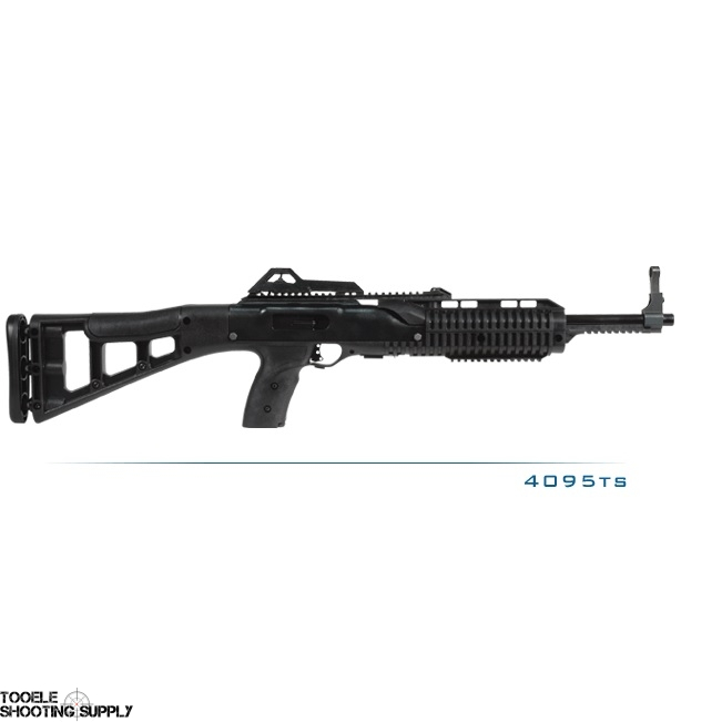 Hi-Point .40 S&W Carbine with 17.5 Inch Barrel, Target Style Stock, Three 10-Round Magazines- Hi-Point 4095TS Pro