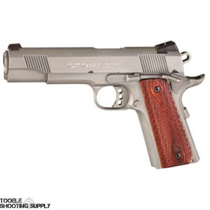 """Colt 1911 XSE Government .45 ACP, 5"""" Barrel, 8-Round, Double Diamond Rosewood Grip, Stainless Steel, Colt O1070XSE"""