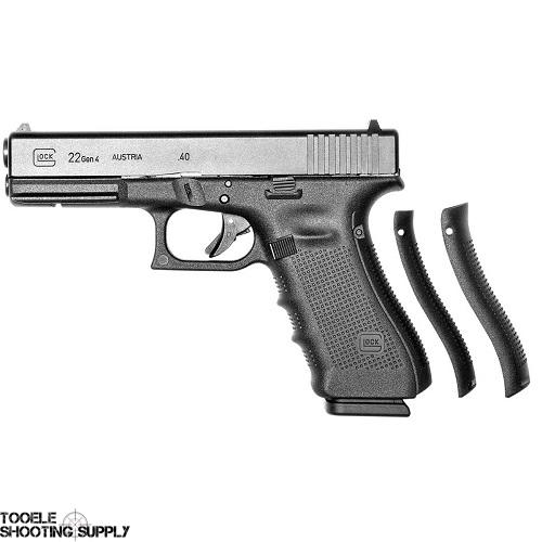 Glock 22 Gen 4 Pistol, 40 S&W, 4.49 inch Barrel, Polymer Grip, Black Finish, 15 Round, Fixed Sights- Glock PG2250203