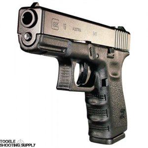 Glock 19 Gen 3 Compact Pistol, 9mm, 4.02 in, Polymer Grip, Black Finish, Fixed Sights, 15 Rd- Glock PI1950203