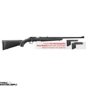 """Ruger American Rimfire Bolt-Action .17 HMR Rifle, 22"""" Barrel, 9+1, Synthetic Stock, Blued Finish, Ruger 8311"""