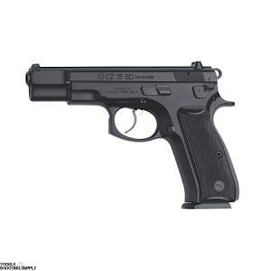 CZ 75 BD 9mm Pistol, Full Size, SA/DA, Decocker, Black Polycoat, 16-Round Mags- CZ 91130