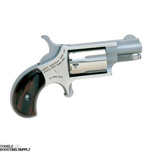 """North American Arms Mini Revolver- .22lr, Stainless Steel, 5-Round Capacity, 1 1/8"""" Barrel- NAA-22LR"""