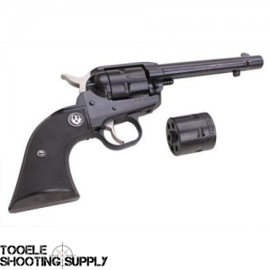 Ruger Single Six Convertible Revolver, .22lr / .22 Magnum, 5.5 Inch Barrel, Black Rubber Grip, Blued Finish, 6 Round- Ruger 0629