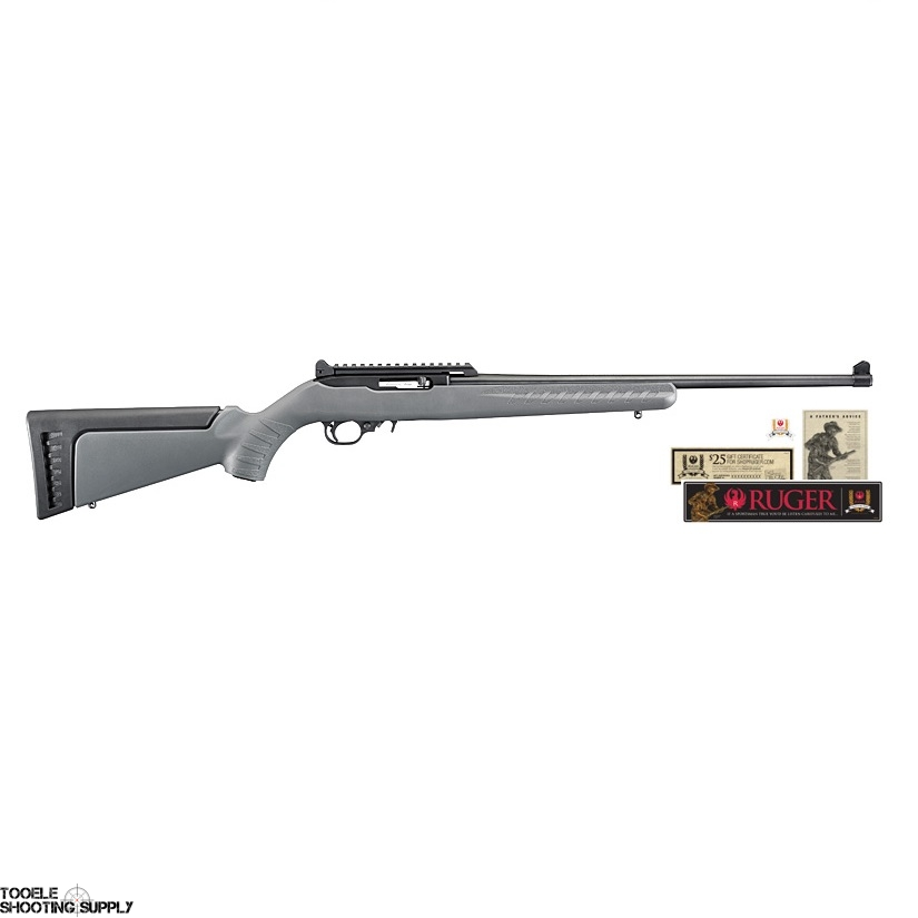 Ruger 10/22 Collector's Series 2nd Ed  22LR Semi-Auto Rifle, Gray Stock,  18 5