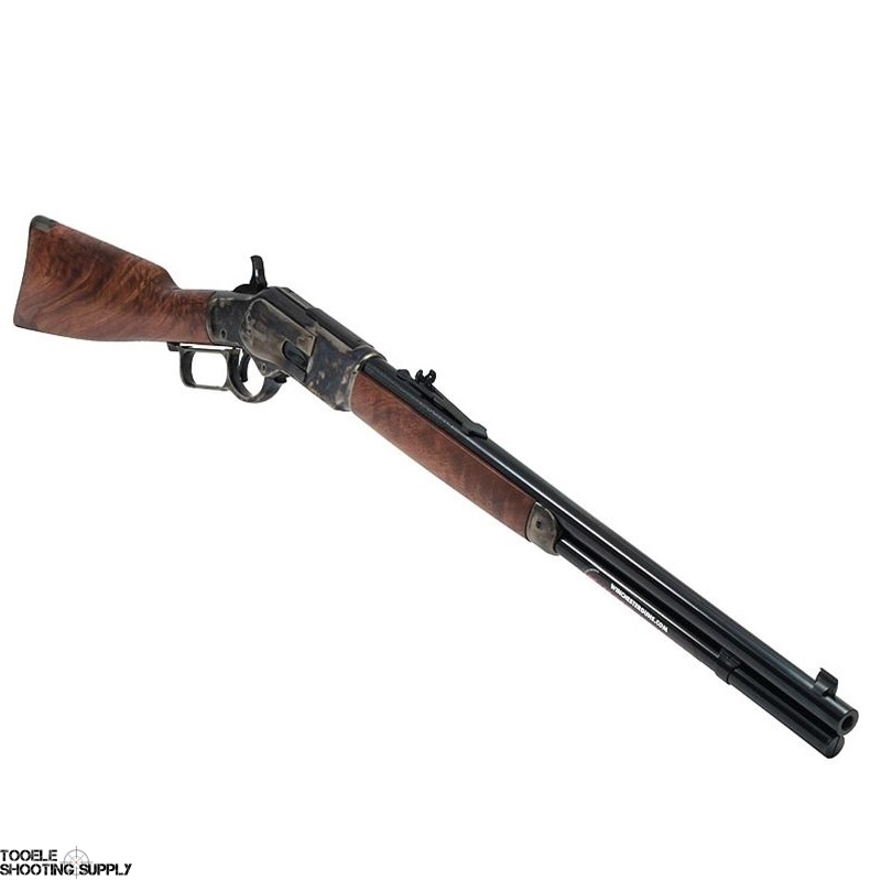 Winchester Model 73 Short  357 Mag Lever-Action Rifle, Case Colored  Receiver, Grade II/III Walnut Stock, 20