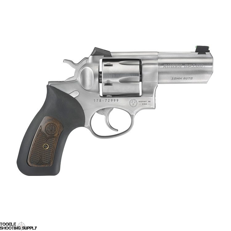 Ruger GP100 Wiley Clapp 10mm Revolver, 3