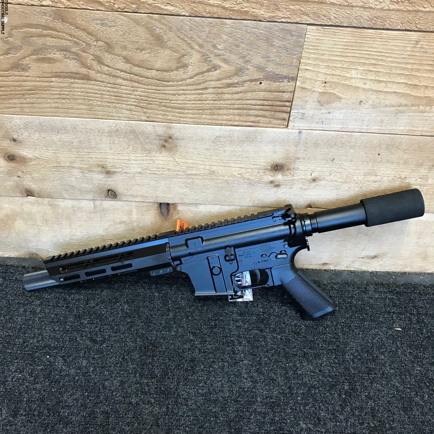 Inter Ordnance M215-ML7 AR-15 Pistol, 9mm, 9